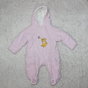 Disney Coverall Baby Girl  0-3M Pink